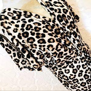🎋Jennifer Lopez | Animal Print Dress